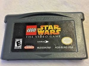 LEGO Star Wars: The Video Game Nintendo Game Boy Advance 100% Tested Working  | eBay