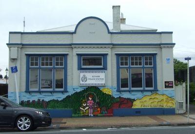 Eltham NZ Police Station