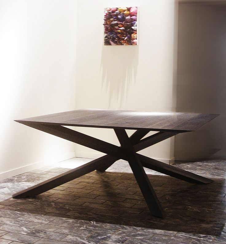 IMPERIA   Big Square Table   Available From140x140 Cm. To 250 X 250 Cm.