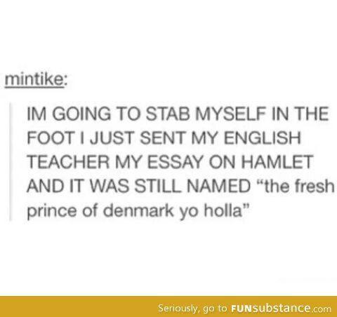 hahahaha essay