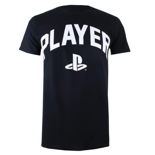 PlayStation Men's Player T-Shirt - Black ZAVVI