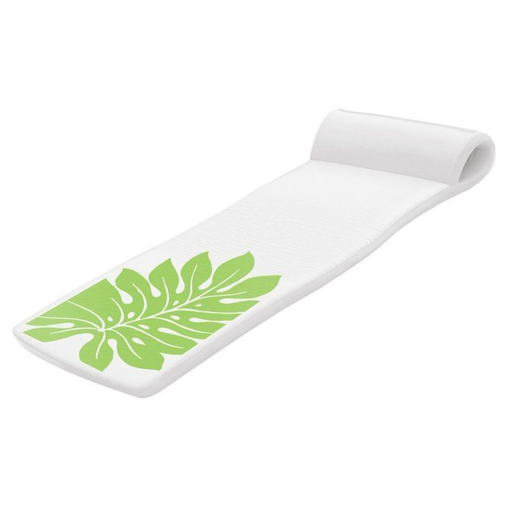 TRC Recreation Sunsation Foam Pool Float Green Leaf - 8020004GR