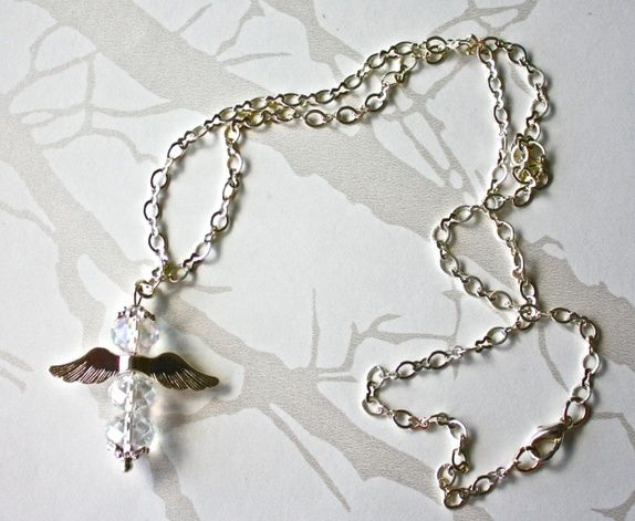 Angel necklace - SOLD
