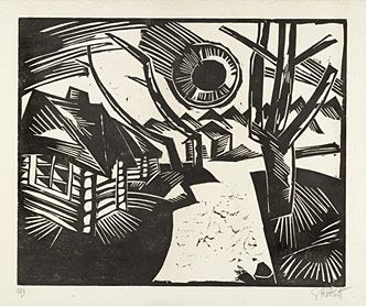 MoMA | German Expressionism Themes: Nature, Karl Schmidt-Rottluff