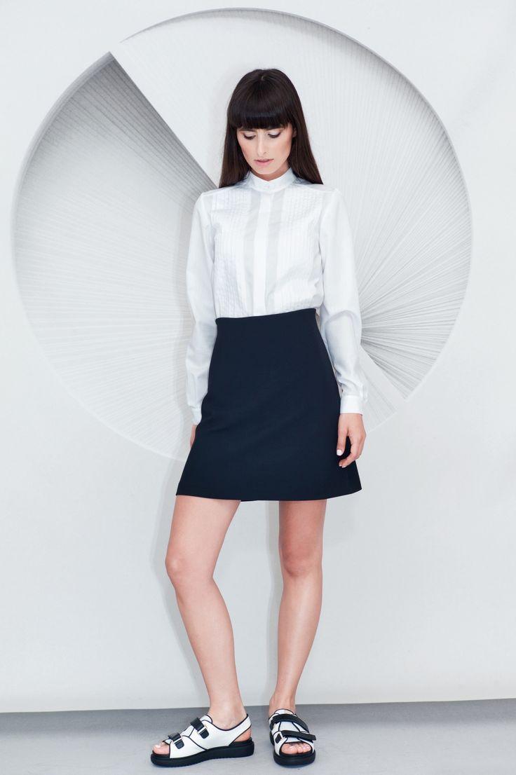 Mini A-line Skirt