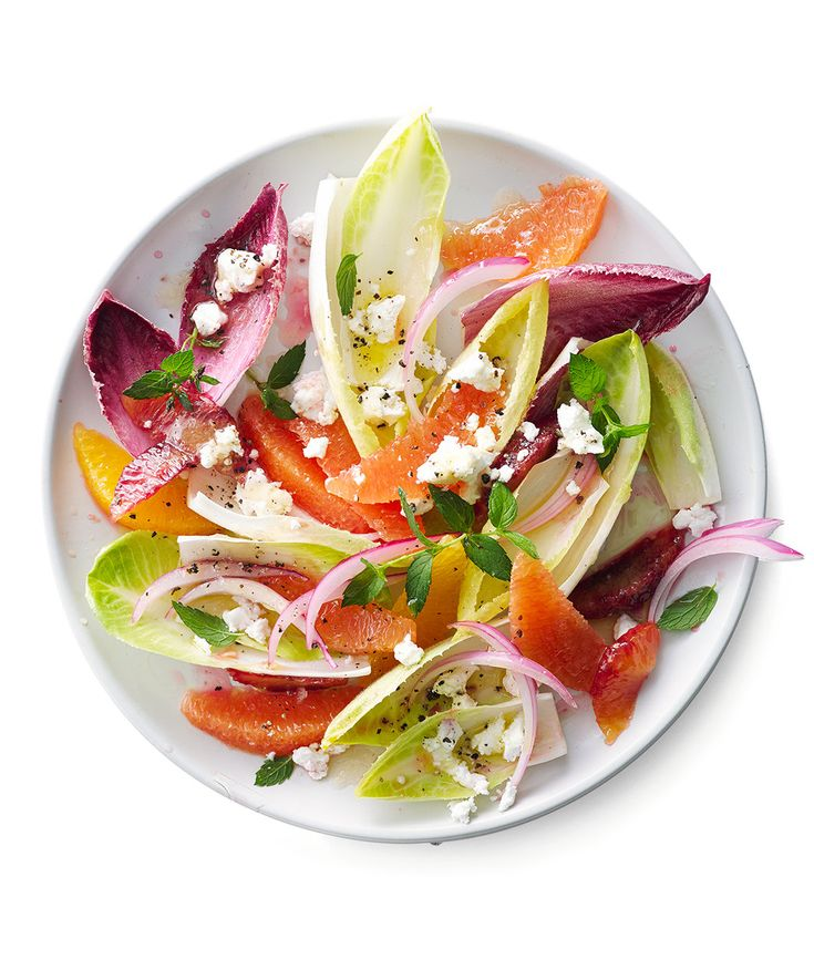 Citrus Endive Salad   Here's a bright salad that you can make in the heart of winter with fresh, seasonal ingredients.