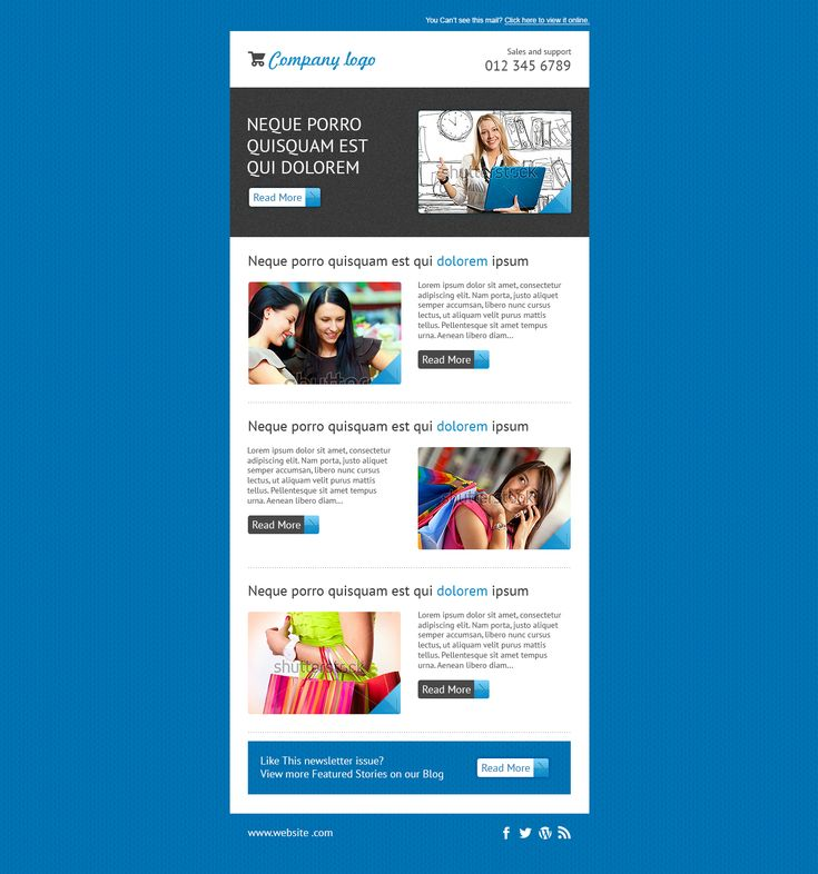 17 best editable mailchimp template newsletter images on for Mailchim templates