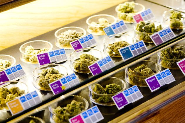 """SPARC pot dispensary in San Francisco (As Ziba Design says, could this be """"the Apple store of weed""""?)"""