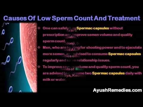 Herbal medicine low sperm