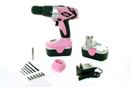 Pink Power PP182 18V Cordless Drill Kit for Women with 2 ... https://www.amazon.com/dp/B00A3FUCYQ/ref=cm_sw_r_pi_dp_x_u7Miyb991KH00