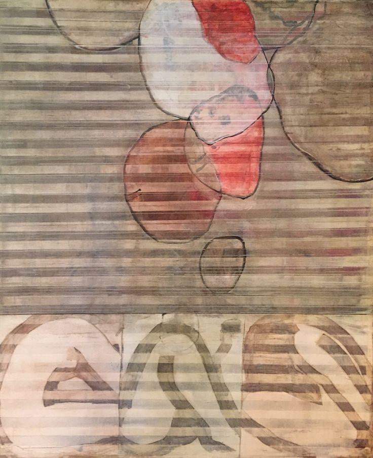 """GROWTH"" Acrylic and oil on canvas"