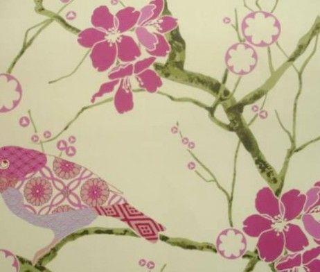 Liberty Birdsong Dark Pink