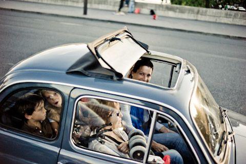 Fiat 500 Family in Paris