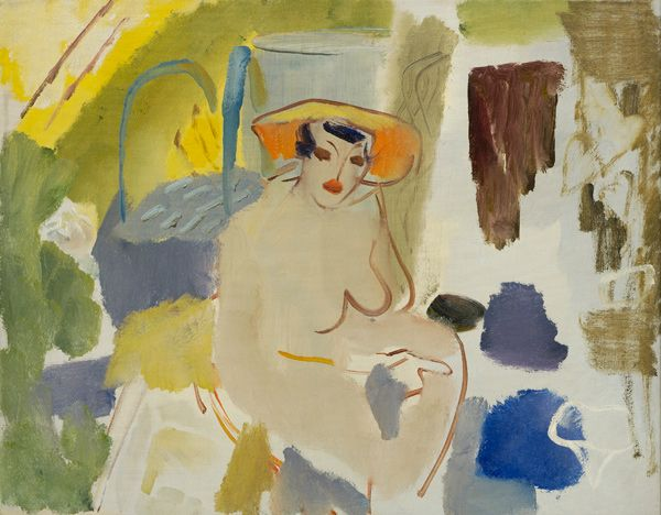 Ivon Hitchens Nude in an Interior – Hampstead Circa 1935 http://www.jonathanclarkfineart.com/index.php/component/zoo/category/ivon-hitchens