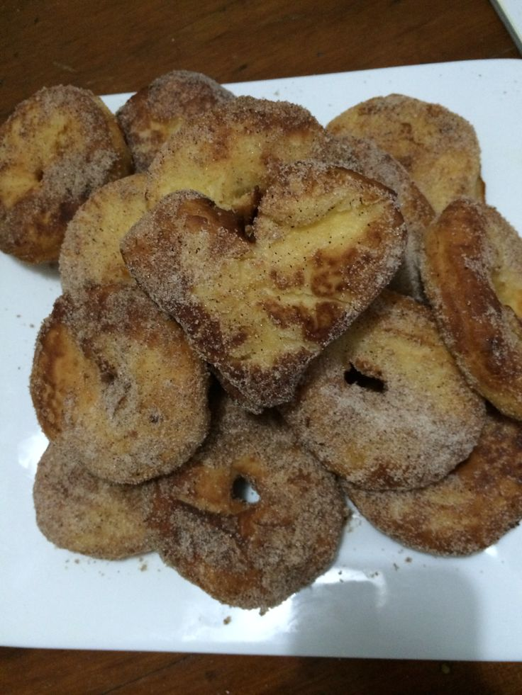 Home made doughnuts!
