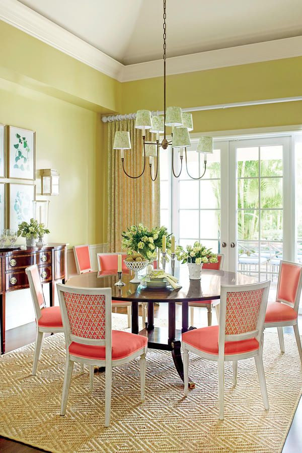 Decorating Resolutions: No. 4 Give Your Dining Room a Splash of Bold Color