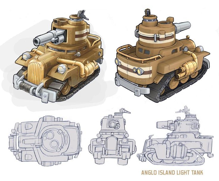 how to draw a war tank