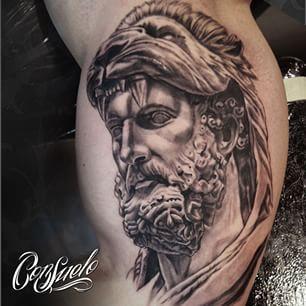 Pin Hercules Sculpture Tattoo Ink Pinterest on Pinterest