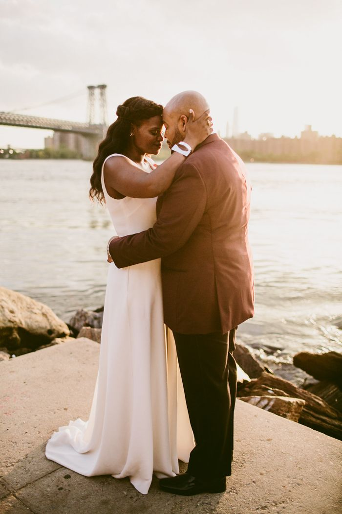 Eternally swooning over this pair of Brooklyn lovers | Image by Kelly Giarrocco Photography