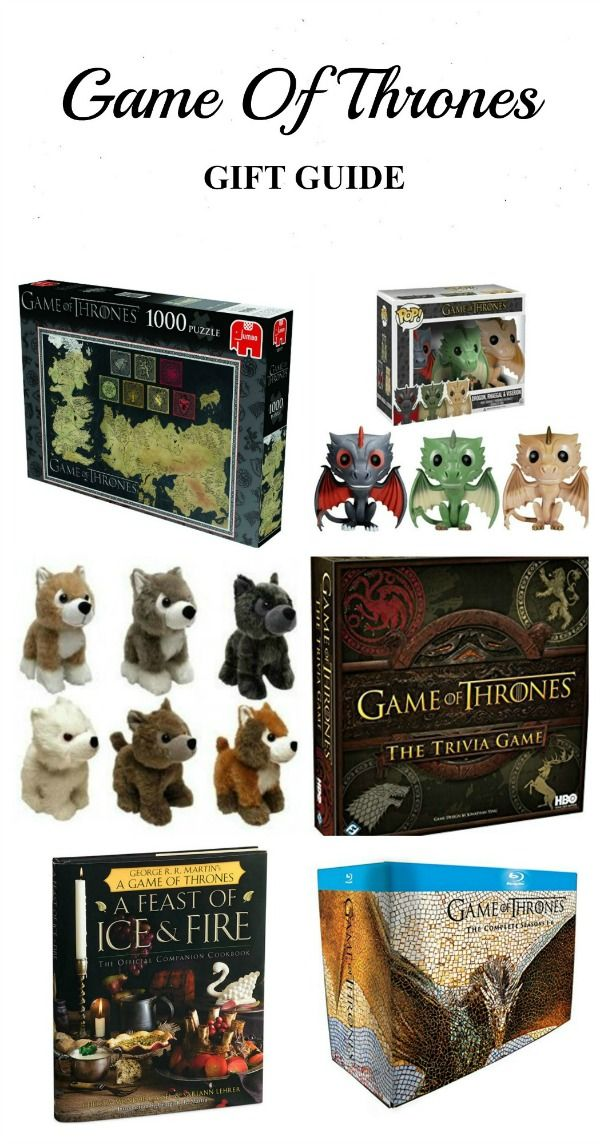 Game of Thrones Gift Guide - Best Gifts for Game of Thrones Fans