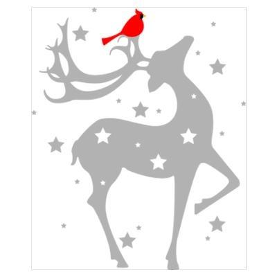 Winter Reindeer