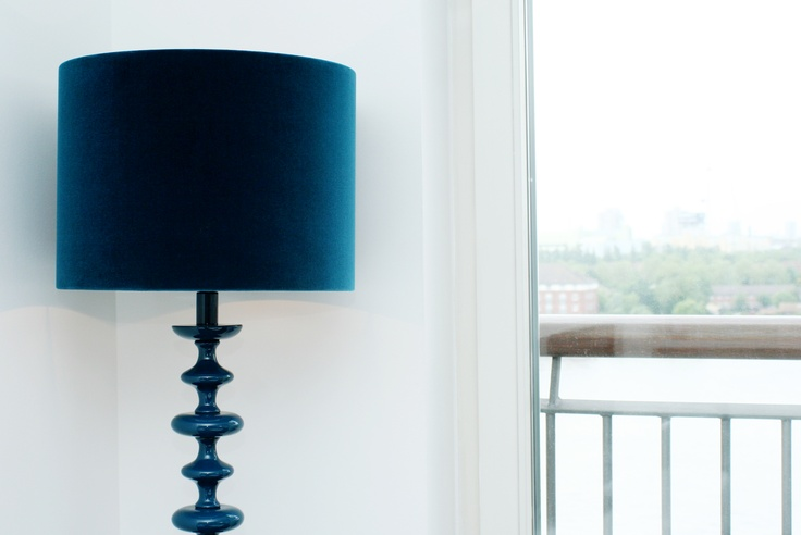 Teal Lamp from Heals