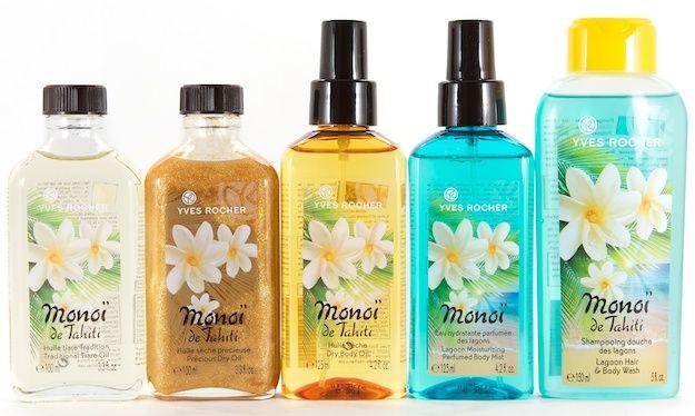 In Beautezine, Yves Rocher Monoi de Tahiti Body Care - Monoï de Tahiti !