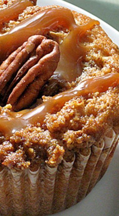 Pralines and Cream Muffins ❊