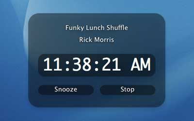 Lunch alarm