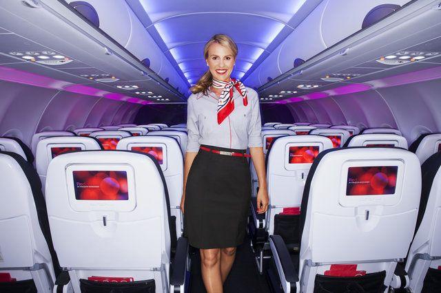 Cmo convertirse en un asistente de vuelo en Francia
