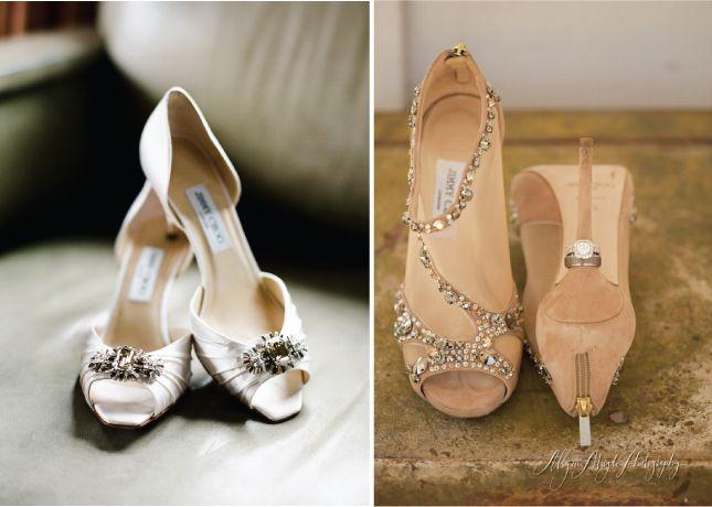 Sparkle Down The Aisle Wedding Shoes