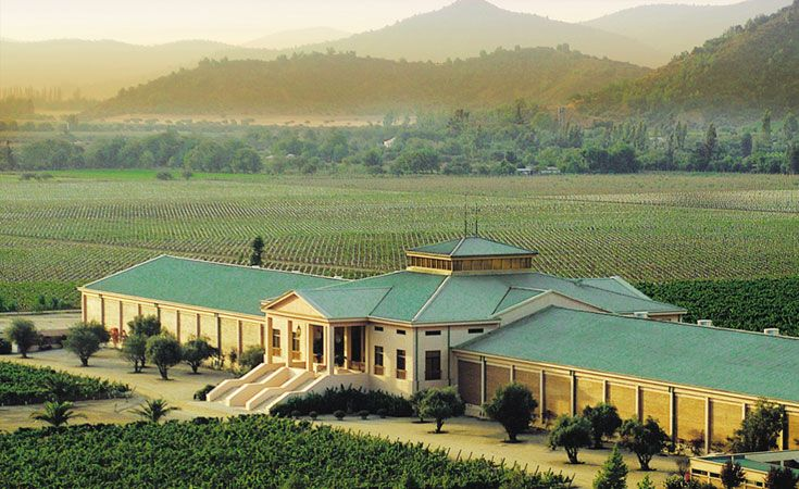 The Winery - Veramonte - Chile.   We got a personal tour of this place in the off season.  Beautiful!