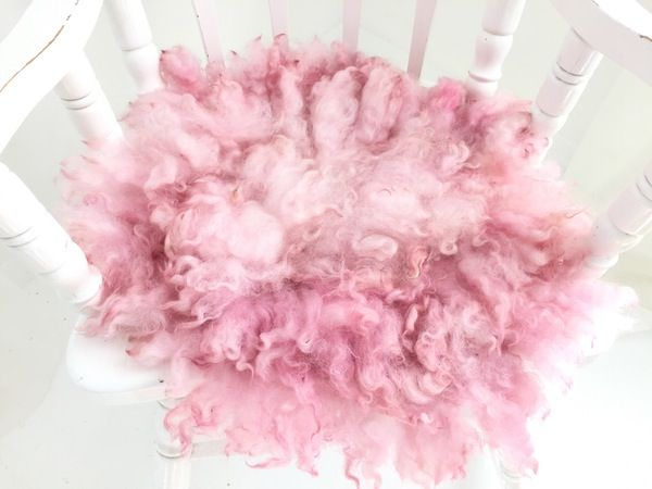 Image of MADE TO ORDER - BABY PINK - PREMIUM curly felt layer - FLOVELIES