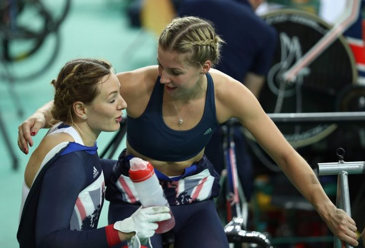 James reflects on her superb performance with Team GB golden girl Laura Trott