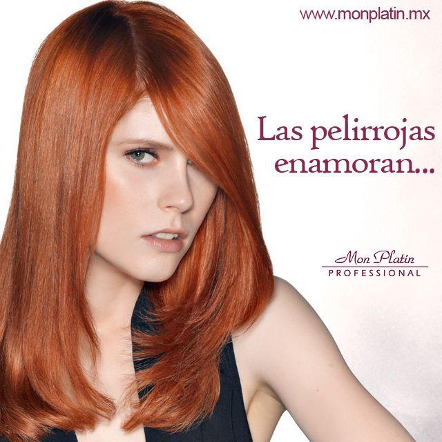 ¿Quieres ser pelirroja? Te ofrecemos una gama de tonos rojos concentrados para colores especialmente brillantes y audaces. Atrévete a cambiar con #MonPlatinMexico