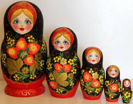 Hey, I found this really awesome Etsy listing at https://www.etsy.com/listing/264060643/nesting-doll-russian-khohloma-nested