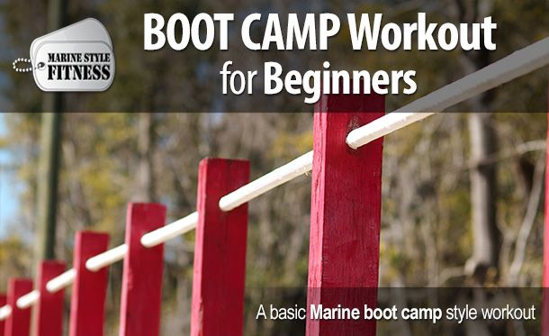 How To Train for Marine Boot Camp