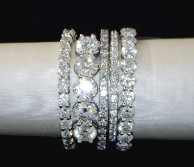 17 best ideas about Stacked Wedding Rings on Pinterest Stacked