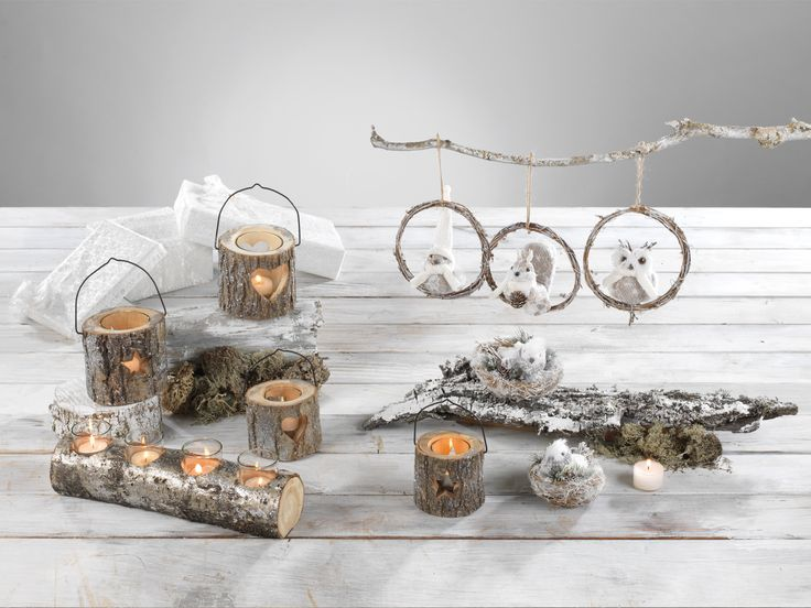 wooden candle holders and decorations #mascagni #mascagnicasa #christmas