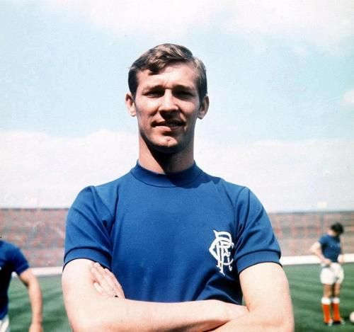 Alex Ferguson, Rangers FC. Before he became a Manchester Utd legend!
