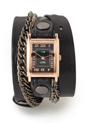 LA MER COLLECTIONS Glam Chain Wrap WatchMer Collection, Collection Wraps, Collection Glam, Glam Chains, Mer Glam, Chains Wraps, The Mer, Wrap Watches, Wraps Watches