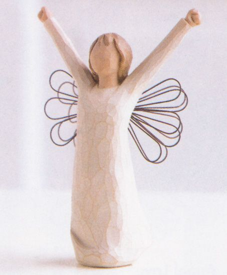 Willow Tree Figures (Courage) - I bought this one for myself when I was going through my divorce