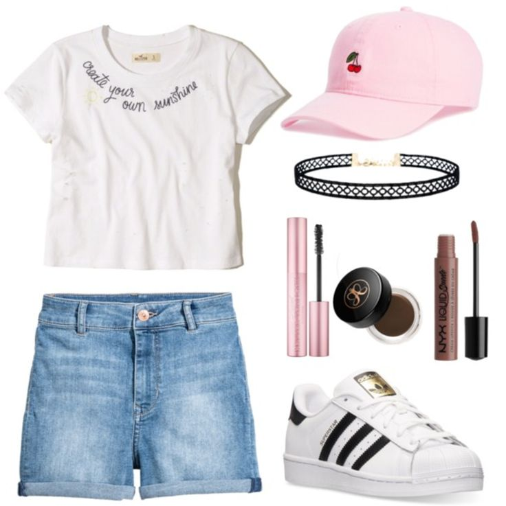 How to wear millennial pink: Outfit idea with millennial pink hat, white top, shorts