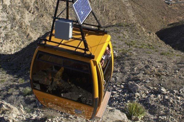 El Paso. Wyler Aerial Tramway — Texas Parks & Wildlife Department