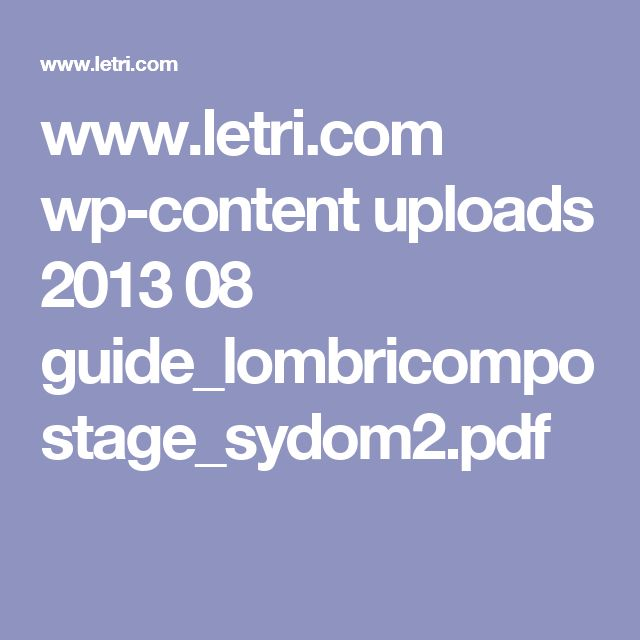 www.letri.com wp-content uploads 2013 08 guide_lombricompostage_sydom2.pdf