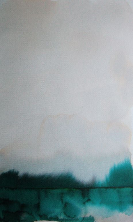 Koen Lybaert; Watercolor, 2013, Painting Akranes