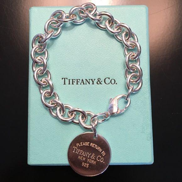 Tiffany sliver return to Tiffany bracelet Authentic, Like new, 19cm Tiffany & Co. Jewelry Bracelets