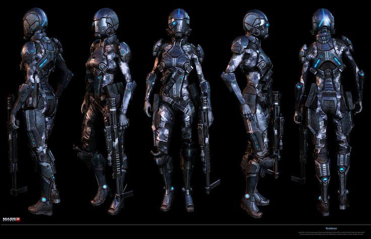 ME3 Citadel - BOP Sniper, Marco Plouffe on ArtStation at http://www.artstation.com/artwork/me3-citadel-bop-sniper