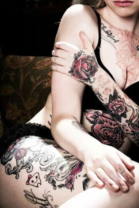 beautiful body&tattoo