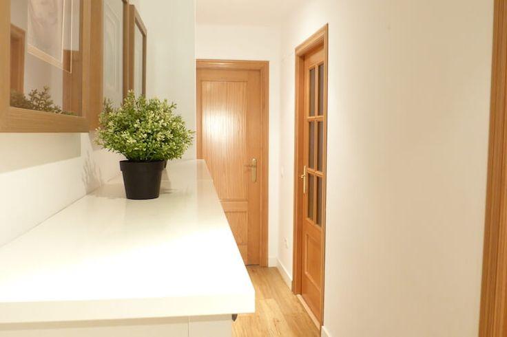 12 best puertas blancas images on pinterest painting doors white doors and doors - Pintar puertas de casa ...